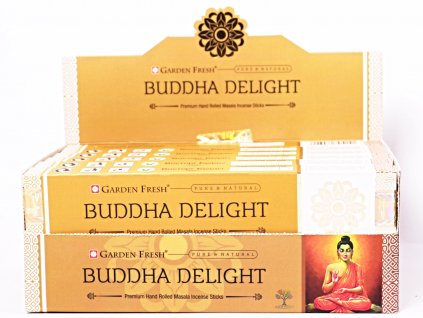 Vonné tyčinky Garden Fresh Premium Buddha Delight - 12 ks - #50
