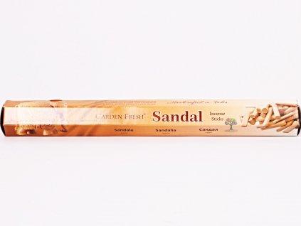 Vonné tyčinky Garden Fresh Sandal - 20 ks - #53