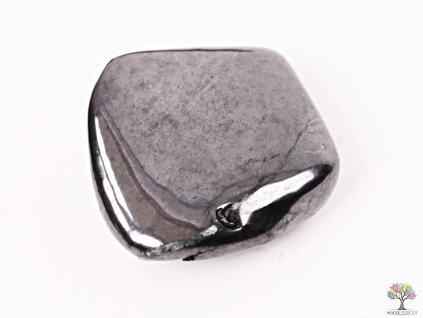 Tromlovaný kámen Šungit XL 1 ks - kámen o velikosti 30 - 70 mm - Rusko  + sleva 5% po registraci na většinu zboží + dárek k objednávce
