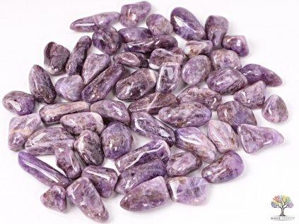 Tromlované kamínky Ametyst L - kameny o velikosti 25 - 45 mm - 500g - Malawi  + sleva 5% po registraci na většinu zboží + dárek k objednávce