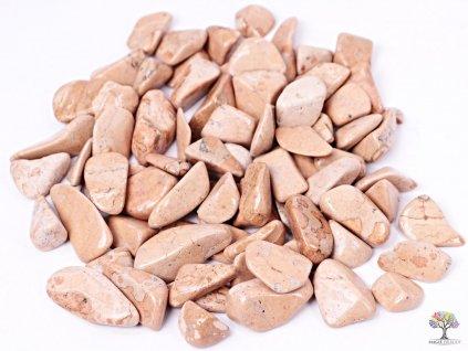 Tromlované kamínky Jaspis sopečná brekcie M - kameny o velikosti 20 - 45 mm - 500g - Peru  + sleva 5% po registraci na většinu zboží + dárek k objednávce