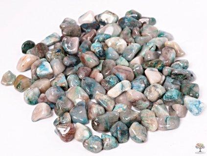 Tromlované kamínky Shattuckit M - kameny o velikosti 20 - 35 mm - 1 kg - Kongo