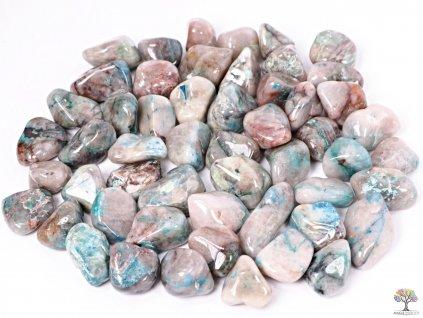 Tromlované kamínky Shattuckit XL - kameny o velikosti 30 - 55 mm - 500g - Kongo