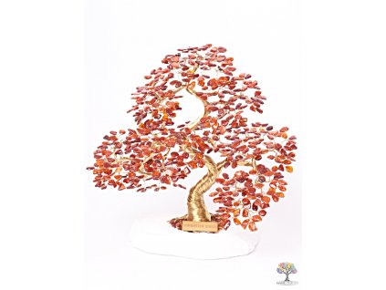 Jantar stromeček štěstí  - bonsai - 30 cm - D9 + dárkové balení #137  + až 10% sleva po registraci