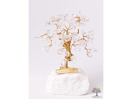 Křišťálový stromeček štěstí 9 cm - R3 - #141