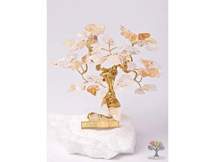 Citrínový stromeček štěstí 9 cm - R3 - #145