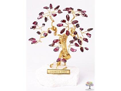 Granátový stromeček štěstí 9 cm - R3 - #147