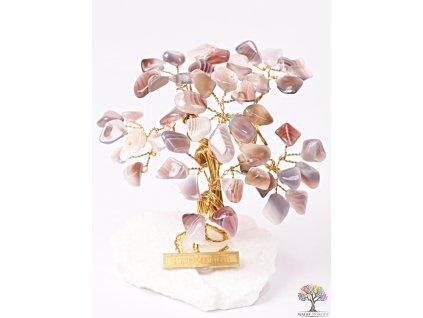 Achátový stromeček štěstí 9 cm - R3 - #150  + sleva 5% po registraci na většinu zboží + dárek k objednávce