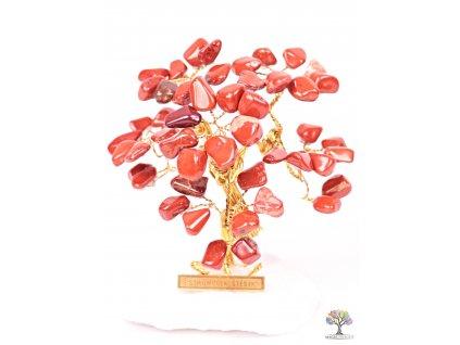 Jaspisový stromeček štěstí 9 cm - R3 - #155