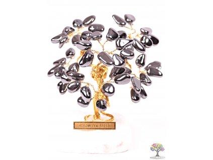 Hematitový stromeček štěstí 9 cm - R3 - #156  + sleva 5% po registraci na většinu zboží + dárek k objednávce