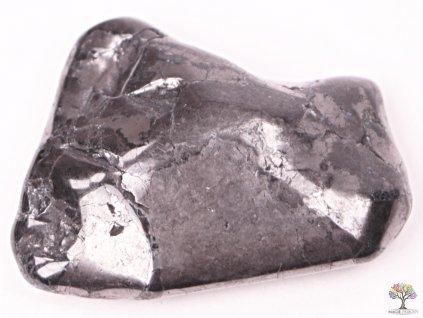 Tromlovaný kámen Šungit L 1 ks - kámen o velikosti 25 - 50 mm - Rusko