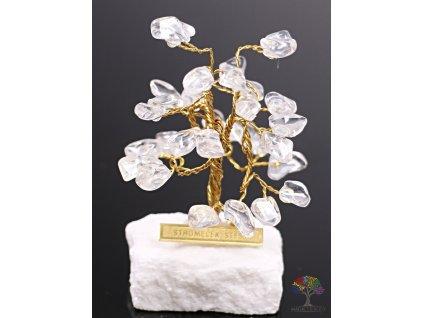 Křišťálový stromeček štěstí 6 cm - R0 - #159