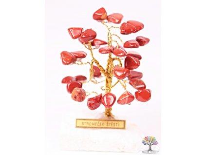 Jaspisový stromeček štěstí 6 cm - R0 - #162