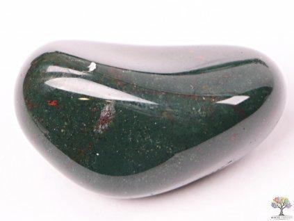Tromlovaný kámen Jaspis zelený L - kámen o velikosti 25 - 35 mm - 1 ks - Brazílie  + sleva 5% po registraci na většinu zboží + dárek k objednávce