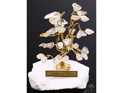 Citrínový stromeček štěstí 6 cm - R0 - #165  + sleva 5% po registraci na většinu zboží + dárek k objednávce