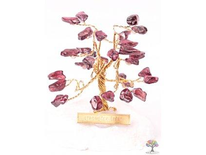 Granátový stromeček štěstí 6 cm - R0 - #168
