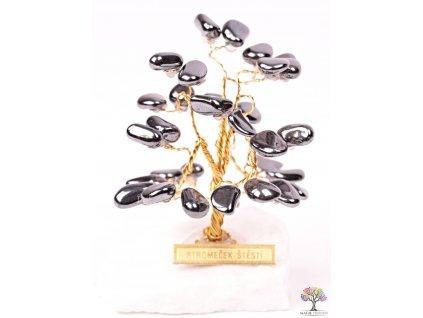 Hematitový stromeček štěstí 6 cm - R0 - #169  + sleva 5% po registraci na většinu zboží + dárek k objednávce