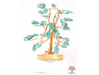 Amazonitový stromeček štěstí 6 cm - R0 - #170  + až 10% sleva po registraci