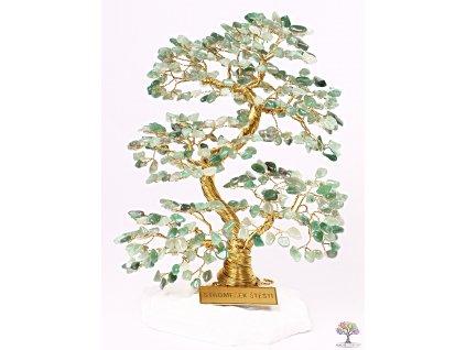 Avanturin stromeček štěstí 20 cm - A4 - #177