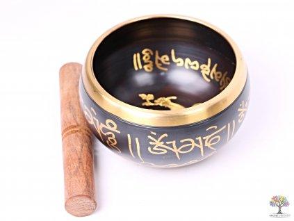 Tibetská miska - zpívající mísa 14 cm - 680 g s paličkou #114  + sleva 5% po registraci na většinu zboží + dárek k objednávce