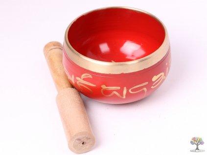 Tibetská miska - zpívající mísa 9 cm - 280 g s paličkou #128