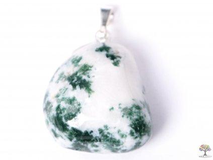 Přívěsek z kamene Achát stromečkový vel. M - #06  + sleva 5% na vše po registraci