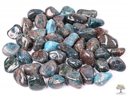 Tromlované kamínky Apatit XL - kameny o velikosti 30 - 50 mm - 1 kg - Afrika  + sleva 5% po registraci na většinu zboží + dárek k objednávce
