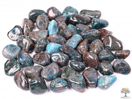 Tromlované kamínky Apatit XL - kameny o velikosti 30 - 50 mm - 1 kg - Afrika  + až 10% sleva po registraci