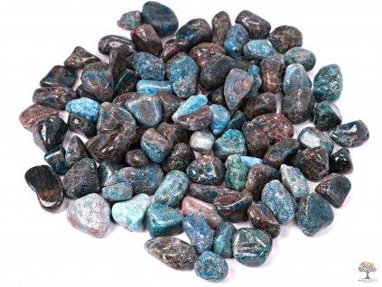 Tromlované kamínky Apatit M - kameny o velikosti 20 - 35 mm - 100g - Afrika  + sleva 5% po registraci na většinu zboží + dárek k objednávce