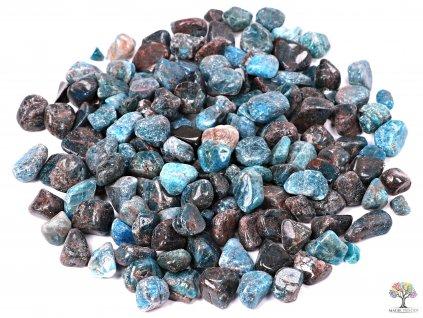 Tromlované kamínky Apatit S - kameny o velikosti 10 - 25 mm - 1 kg - Afrika  + až 10% sleva po registraci