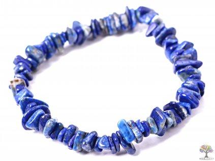 Náramek Lapis Lazuli tromlovaný #221 - z přírodních kamenů  + sleva 5% po registraci na většinu zboží + dárek k objednávce