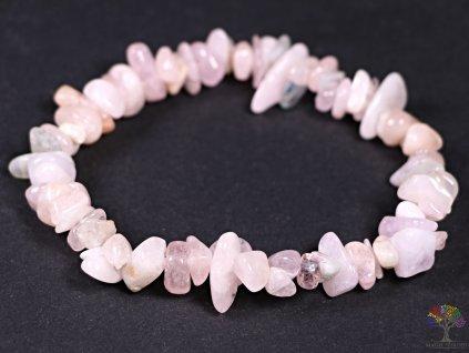 Náramek Morganit MIX tromlovaný #09 - z přírodních kamenů  + sleva 5% po registraci na většinu zboží + dárek k objednávce