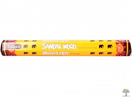 Vonné tyčinky Tulasi Sandal Wood - 20 ks - #61  + sleva 5% po registraci na většinu zboží + dárek k objednávce
