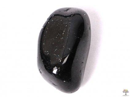 Tromlovaný kámen Turmalín skoryl S - kámen o velikosti 15 - 25 mm - 1 ks - Afrika