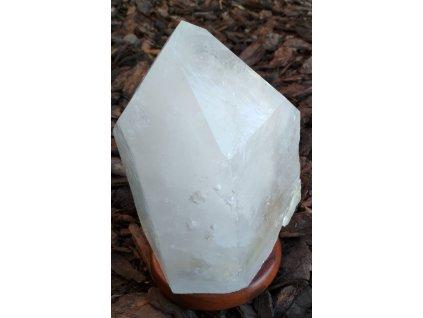 Křišťál přírodní - LAMPA - lampa ze surového křišťálu - 6.9 kg