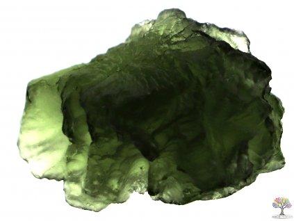 Vltavín surový 4g - 23x16x16 mm - TOP kvalita #52  + sleva 5% po registraci na většinu zboží + dárek k objednávce