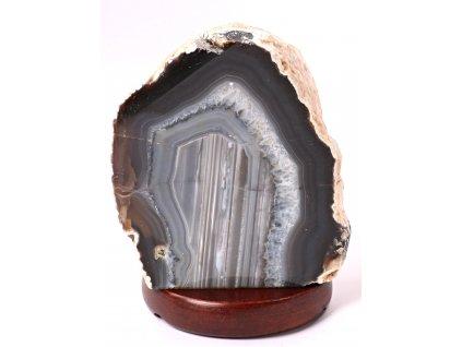 Achátová lampa elektrická 1.840 kg #78 - přírodní kámen  + sleva 5% po registraci na většinu zboží + dárek k objednávce