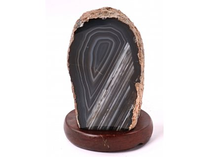 Achátová lampa elektrická 1.340 kg #79 - přírodní kámen  + sleva 5% po registraci na většinu zboží + dárek k objednávce