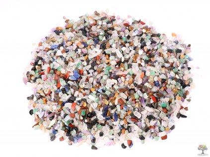 Tromlované kamínky MIX XXS - 100g - kameny o velikosti 4 - 10 mm  + sleva 5% po registraci na většinu zboží + dárek k objednávce