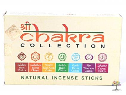 Vonné tyčinky Chakra collection - 90 ks #62  + sleva 5% po registraci na většinu zboží + dárek k objednávce