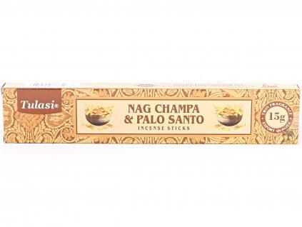 Vonné tyčinky Tulasi Premium Nag Champa Palo Santo - 12 ks - #67  + sleva 5% po registraci na většinu zboží + dárek k objednávce