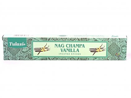 Vonné tyčinky Tulasi Premium Nag Champa Vanilla - 12 ks #70  + sleva 5% po registraci na většinu zboží + dárek k objednávce