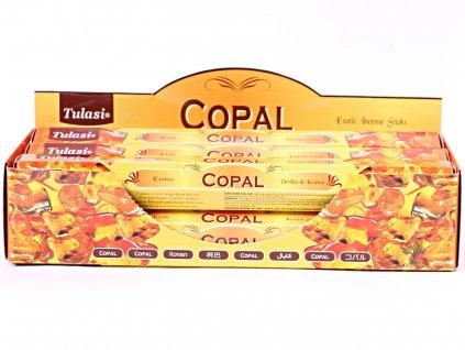 Vonné tyčinky Tulasi Copal - 20 ks - #72  + sleva 5% po registraci na většinu zboží + dárek k objednávce