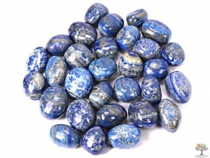 Tromlované kamínky Lapis Lazuli - XL - 500g - kameny o velikosti  30 - 45 mm - Brazílie  + sleva 5% po registraci na většinu zboží + dárek k objednávce