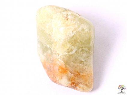 Tromlovaný kámen Granát zelený M - 1 ks -  kámen o velikosti 15 - 30 mm - Afrika  + sleva 5% po registraci na většinu zboží + dárek k objednávce