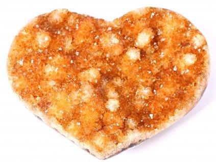 Citrín drúza Srdce - Top kvalita - 625g #10  + sleva 5% po registraci na většinu zboží + dárek k objednávce