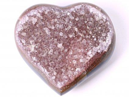 Ametyst drúza Srdce - Top kvalita - 410g #07  + sleva 5% po registraci na většinu zboží + dárek k objednávce
