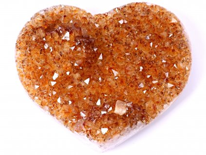 Citrín drúza Srdce - Top kvalita - 336g #11  + sleva 5% po registraci na většinu zboží + dárek k objednávce