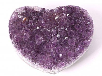 Ametyst drúza Srdce - Top kvalita - 1056g #09  + sleva 5% po registraci na většinu zboží + dárek k objednávce