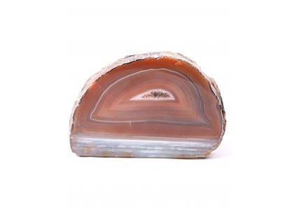 Svícen na svíčku - Achát přírodní - 1.300 kg - #413  + sleva 5% po registraci na většinu zboží + dárek k objednávce